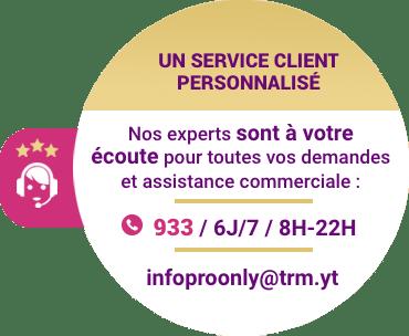 Un service client personnalisé